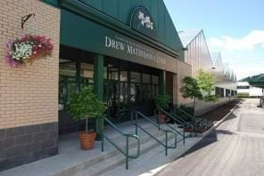 The Drew Mathieson Center entrance
