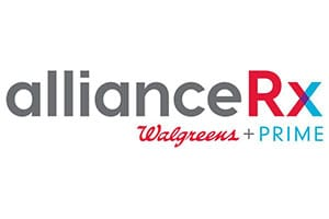 Alliance RX Walgreens + PRIME logo